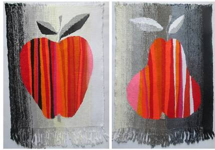 Diptych Apple and Pear