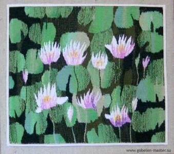 Water lillies still life